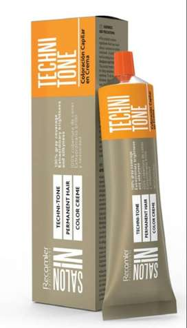Tinte Recamier SalonIn x60gr - 12 tubos- Gratis 12 Reveladores 90ml