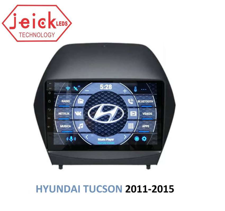 "Nueva radio Hyundai Tucson 2011 - 2012 - 2013 - 2014 - 2015  de 10"""