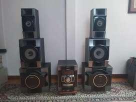 Equipo  Sony Genezi 10000 wats