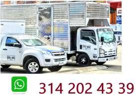 Servicios de trasteos urbanos y nacionales