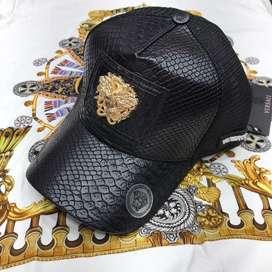 Gorras Versace Negro Dorado Envio Gratis