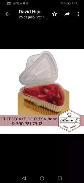 Venta de cheesecake de 8 onzas