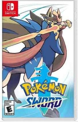 Pokemon spada para nintendo switch