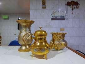 Jarrones Silvana Gold Plated
