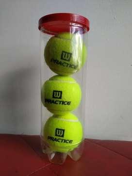 Set de Pelotas de Tenis Wilson Practice