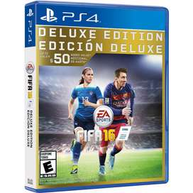 Vendo O Cambio Fifa 16 Deluxe Edition Ps4
