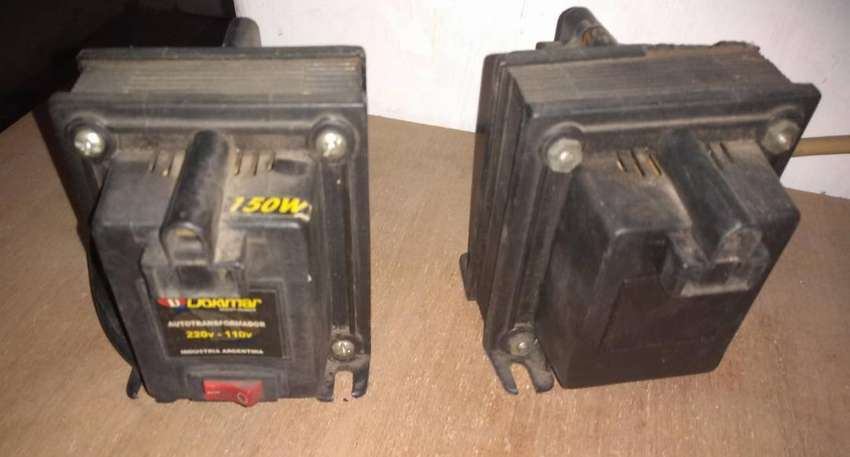 Transformador 220 a 110 150 w 2 bocas 0