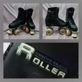 Patines marca roller chicos skate 4 ruedas