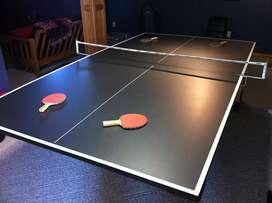 Mesa de ping pong de sobreponer