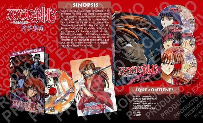 Anime Rurouni Kenshin / Samurai X Serie Completa Hd720p 0