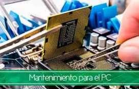 Mantenimiento y formateo de computadores