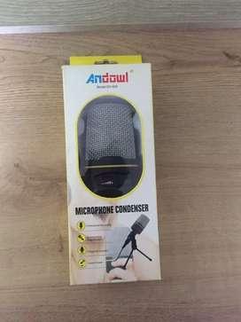 Micrófono condensador para Streaming