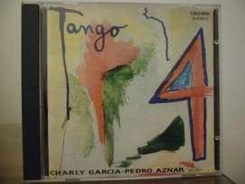 Charly García Pedro Aznar Tango 4 cd