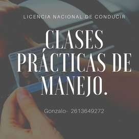 CLASES DE MANEJO
