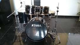 Bateria Acustica Tama Rhythm Mate 5 Piezas Con Bases