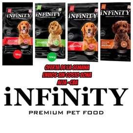 alimento balanceado infinity *21kg