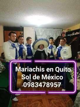 Mariachis en Quito Norte Sur y valle Llámanos