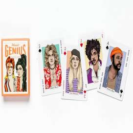 CASINOS CARDS DE CANTANTES ROCK JACKSON QUEEN BEATLES BON JOVI NIRVANA IMPORTADO COLECCIONISTAS