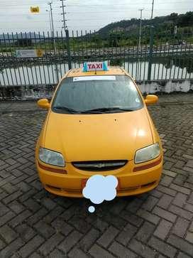 Venta de Taxi Amarillo con placa Documentos en Regla NEGOCIABLE