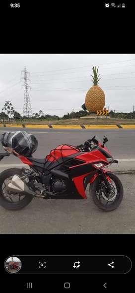 Moto shineray chief II cilindrada 250