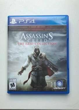 Juego de play 4 Assassins creed ezio auditore