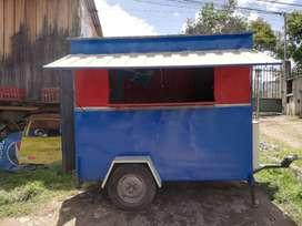 kiosko Rodante para venta de comida