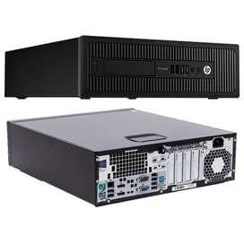 Computadora Hp Prodesk 600 G1 Sff I5 4570 4gb Ram Como Nueva