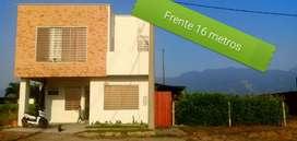 Venta hermosa casa con amplia zona verde