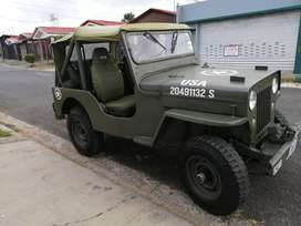 Jeep Willys Hurricane.