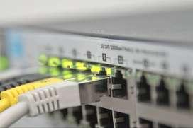 Instalación y Mantenimiento De Redes Informáticas Wifi cableados cat5e cat6 switch routers aps repetidores
