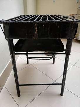 Asadero de carbón de hierro
