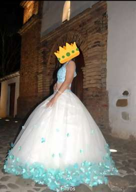 Hermoso vestido quinceañera