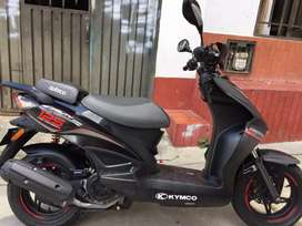 Moto kymco, buen estado y negociable