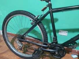 Vendo 2 bicicletas la blanca stirling a 270 y la negra dragón a 160