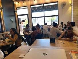 Se vende Restaurante RAFFAGÚ , con clientela de alrededor de 80 a 100 clientes diarios y contactos de clientes habituale