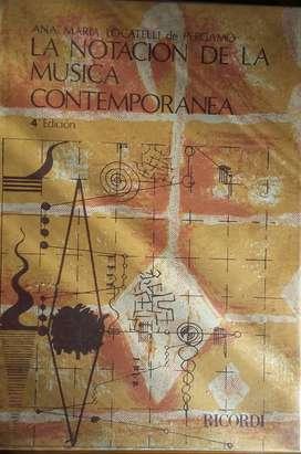 LA NOTACIÓN DE LA MUSICA CONTEMPORANEA