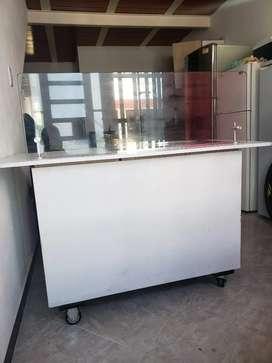Barata maquina de helado frito