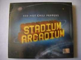 red hot chili peppers stadium arcadium 2 cd 1 edic carton sellado