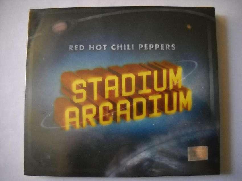 red hot chili peppers stadium arcadium 2 cd 1 edic carton sellado 0