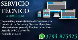 Reparación de PC, celulares, tablet y mas