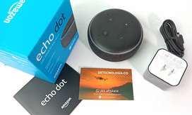 Amazon Echo Dot 3 generación en Colombia Altavoz Inteligente Echo Dot Amazon Con Alexa Asistente inteligente