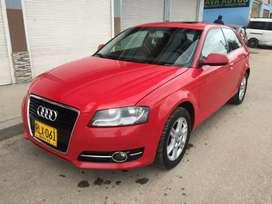 Audi A3 Rojo fiesta