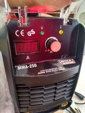 Equipo de soldadura de 250 amp