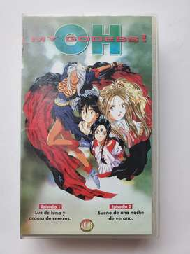 Vhs oh my godess episodio 1 y 2 anime japones