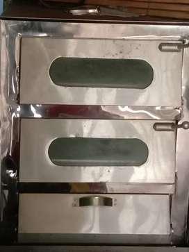 Horno de panadería a gas