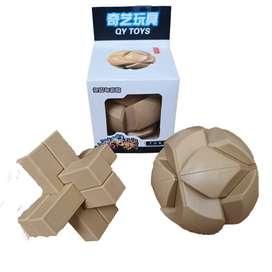 Puzzle Ensamblar Rompecabeza 3D Bloques Esfera 6 Piezas Qiyi