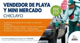 VENDEDOR DE PLAYA Y MINI MERCADO