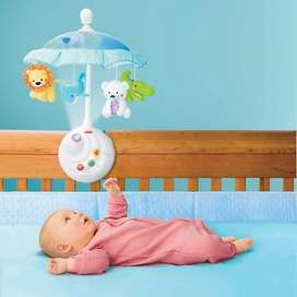 FISHER PRICE MOVIL PRECIOUS PLANET PARA CUNA MUSICA Y LUCES