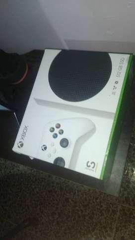 Xbox series S,  1 mes de uso