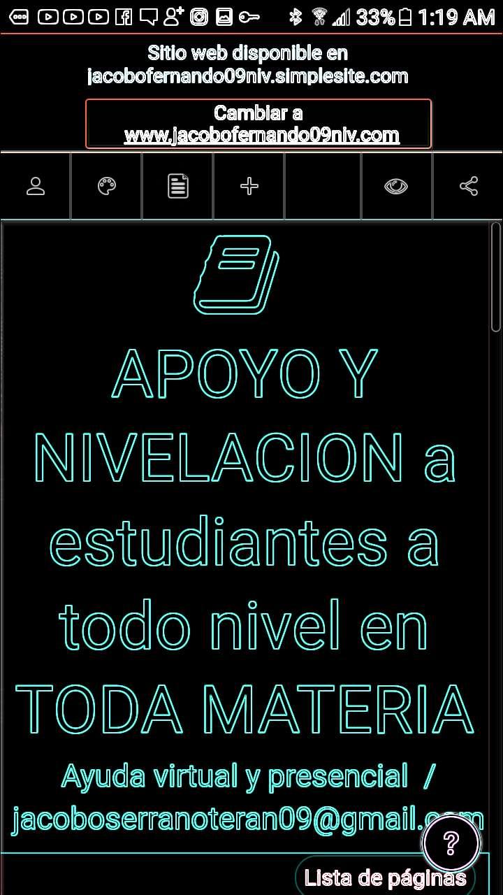 CLASES DE NIVELACION PERSONALIZADA 0